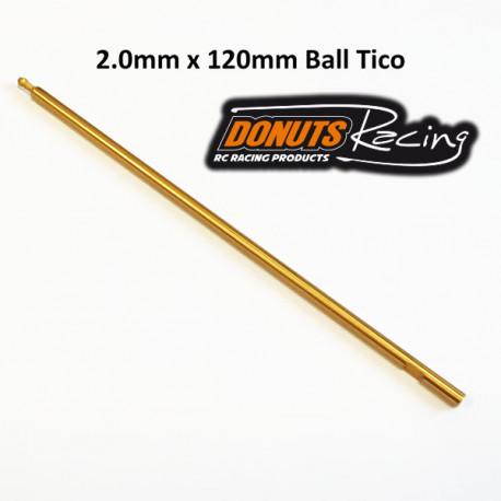Lame HEXA 2.0mm Ball Tico 120mm