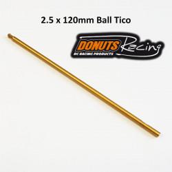 Lame HEXA 2.5mm Ball Tico 120mm