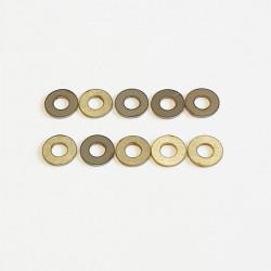 Rondelles 2.6x6x0.5mm (10)