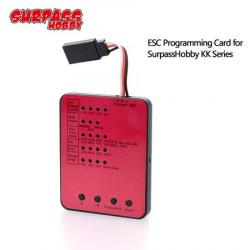 Carte de prog pour ESC SURPASS