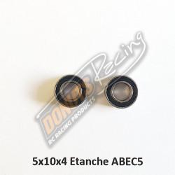 Rlt5x10x4mm ABEC 5 Acier 440 étanche (2)