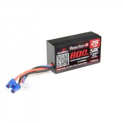 Lipo 2S 650mAh 50C EC2 pour 1/16