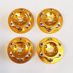 Ecrous de roues 17mm Alu (4)