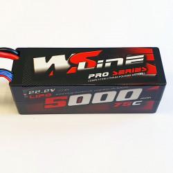 Lipo WSLine 5000mAh 6S 75C EC5