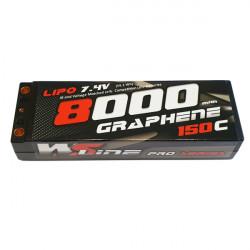Lipo WSLine 8000mAh 2S Graphene 150C