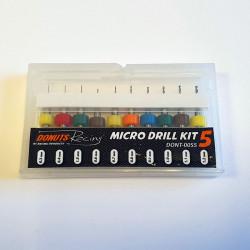 Set micro fôrets 0.3 à 1.2mm