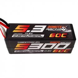 Lipo 5300mAh 4S 60C EC5 Personnalisable