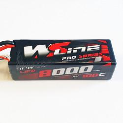 Lipo WSLine 8000mAh 3S 100C HV EC5