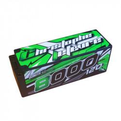 Lipo 8000mAh 4S 120C HV PK 5mm