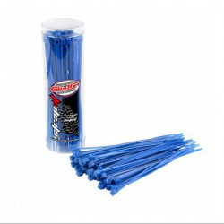 Collier rilsan Bleu  2.5x100mm - 50 pcs