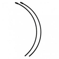 Tube d'antenne Noir (x2)