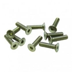 Screws - Flat Head - Hex (Allen) - M3 x 10mm (10 pcs)