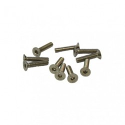 Screws - Flat Head - Hex (Allen) - M3 x 14mm (10 pcs)