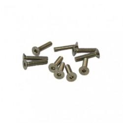 Screws - Flat Head - Hex (Allen) - M3 x 16mm (10 pcs)