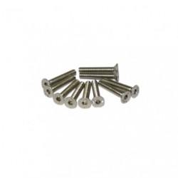 Screws - Flat Head - Hex (Allen) - M3 x 18mm (10 pcs)
