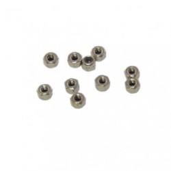 Nuts - M2 nyloc (10 pcs)