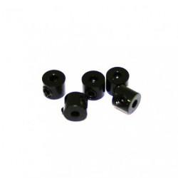 Bague d'arret 2mm Noir (x5)