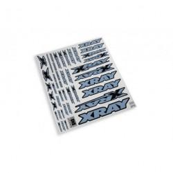 XRAY STICKER FOR BODY - METALIC SILVER