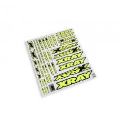 XRAY STICKER FOR BODY - NEON YELLOW