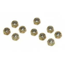 Locking Nuts, Steel, 5-40 (10)