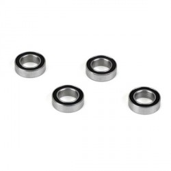 6x10x3 Rubber Sealed Ball Bearing (4): 8X, 8XE