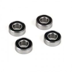 5x11x4 Rubber Sealed Ball Bearing (4): 8X, 8XE