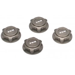 Covered 17mm Wheel Nuts, Aluminum: 8B/8T 2.0