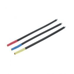 Set de câbles pour moteur brushless, connecteurs cylindriques Femelles 3.5mm, Bleu/Jaune/Orange