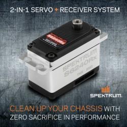 Servo S6240RX avec Récepteur intégré