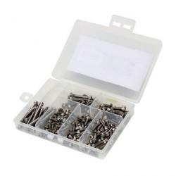 Stainless Steel Screw Set Variety Pack