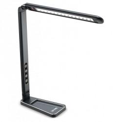 Lampe de stand à LEDS (noire)