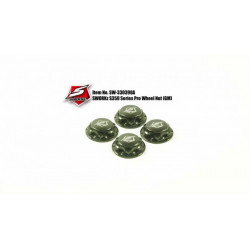 Ecrous de roues pro Alu Gun metal (4pc)