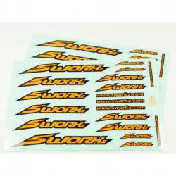 Speed Logo Sticker (PushBar)(FO)(2pc)