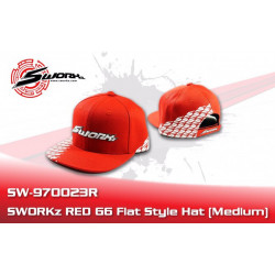 Flat Style Cap red