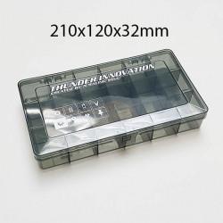 Boîte de rangement 185x155x43mm