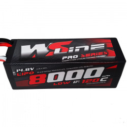 Lipo WSLine 8000mAh 4S 120C Low IR EC5