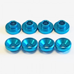 Universal Aluminium servo washer Light Blue (8)
