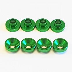 Universal Aluminium servo washer Green (8)