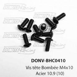 Vis tête Bombée M4x10 Acier 10.9 (10)