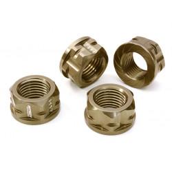 Serrated 17mm Hex wheel nut