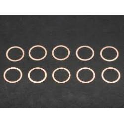 Rondelle de calage 10x12x0.1mm (10)
