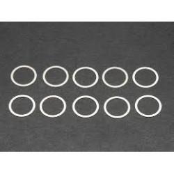 Rondelle de calage 10x12x0.2mm (10)