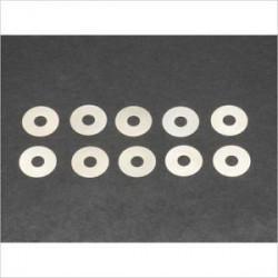 Rondelle de calage 3.5x10x0.1mm (10)