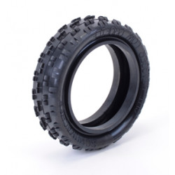 1:10 Cut Stagger - 2WD Front Tyres -Low Profile- Yellow (2)