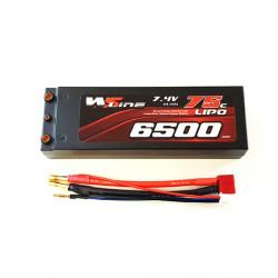 2S 6500mAh 75C WSLine Lipo