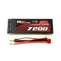 2S 7200mAh 50C WSLine Lipo