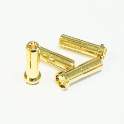 5mm male plug (L 14mm) 90° (4°