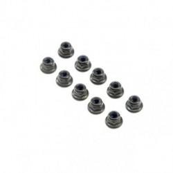 M3 Flanged Lock Nuts (10)