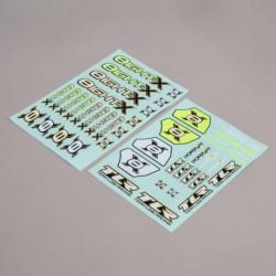 8X - Planche de stickers 8X