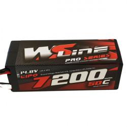 LiPo WSLine 7200mAh 4S 50C EC5